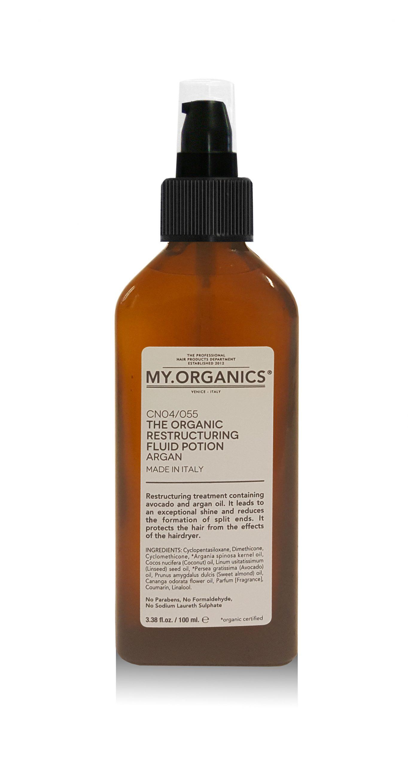 Restructuring Argan fluid potion 100ml MY.ORGANICS