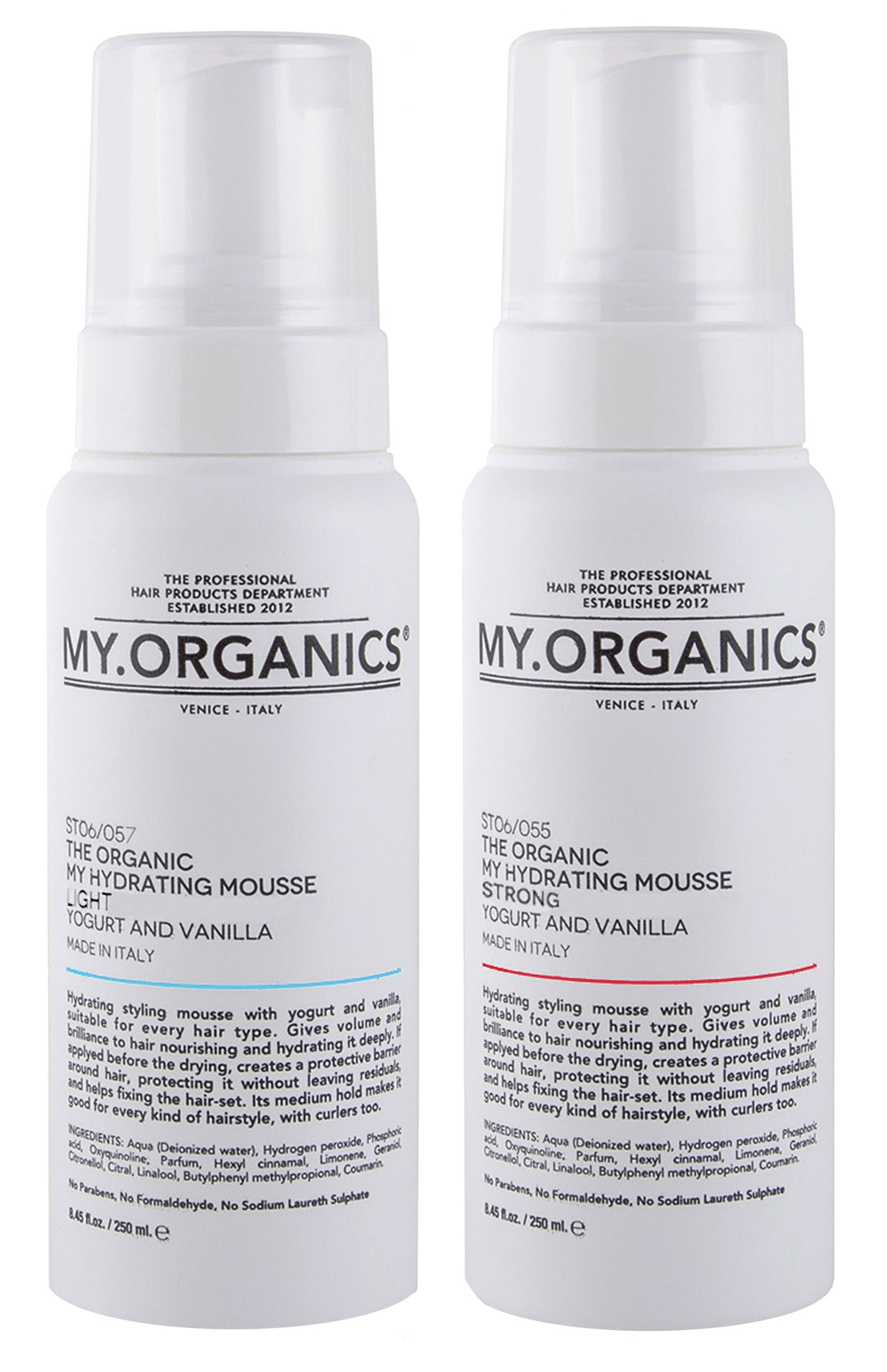 Hydrating Hydrating mousse Light and Strong MY.ORGANICS