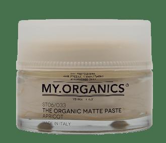 ГЕЛЬ МАТОВАЯ ПАСТА – АБРИКОС: The Organic Matte Paste, with apricot, by My.Organics