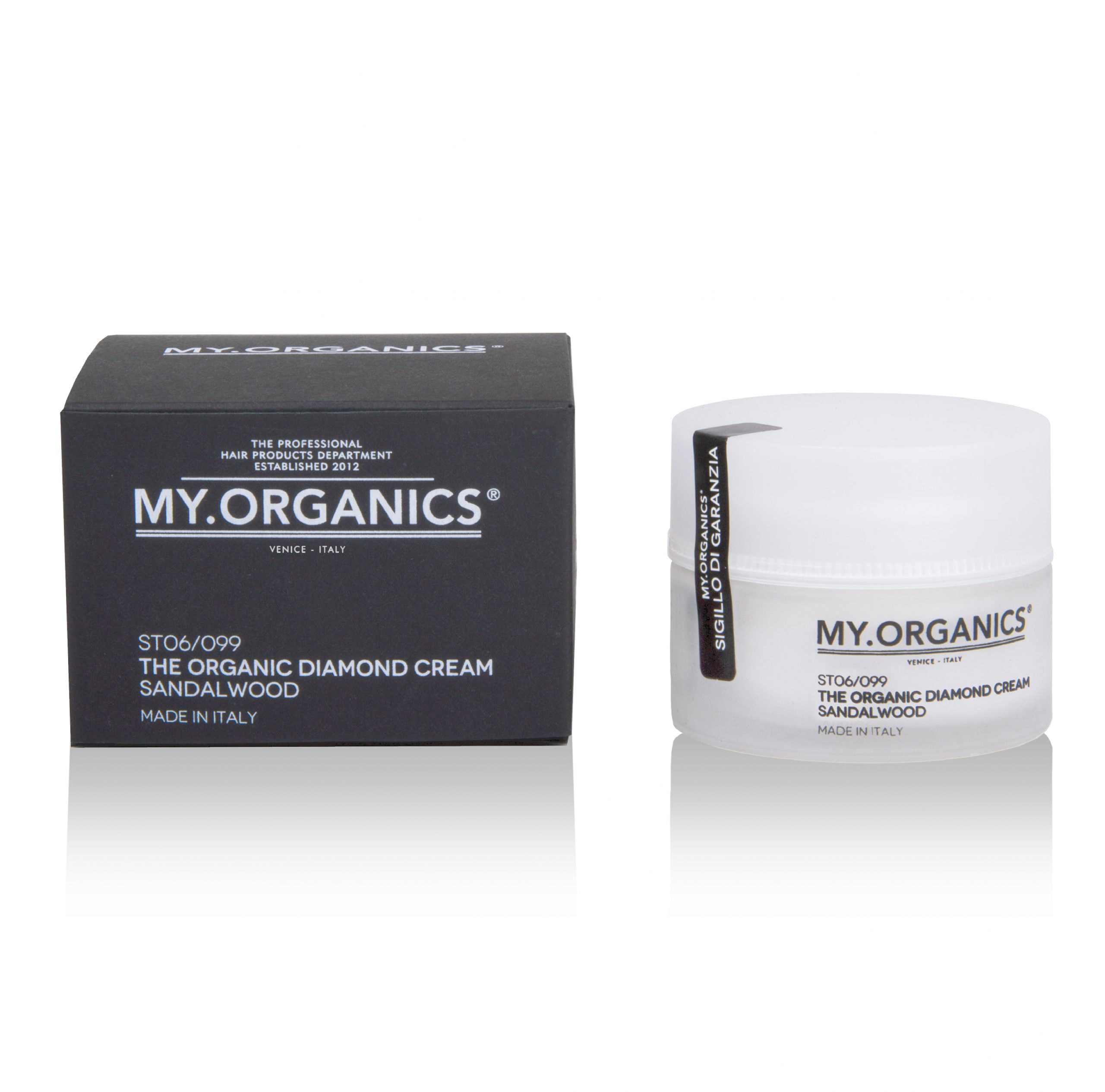 Thickening Diamond Cream MY.ORGANICS