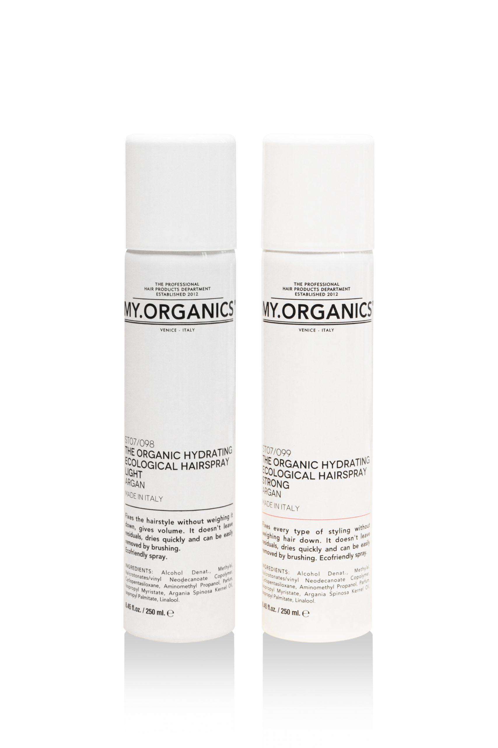 Hydrating Ecological hairspray MY.ORGANICS