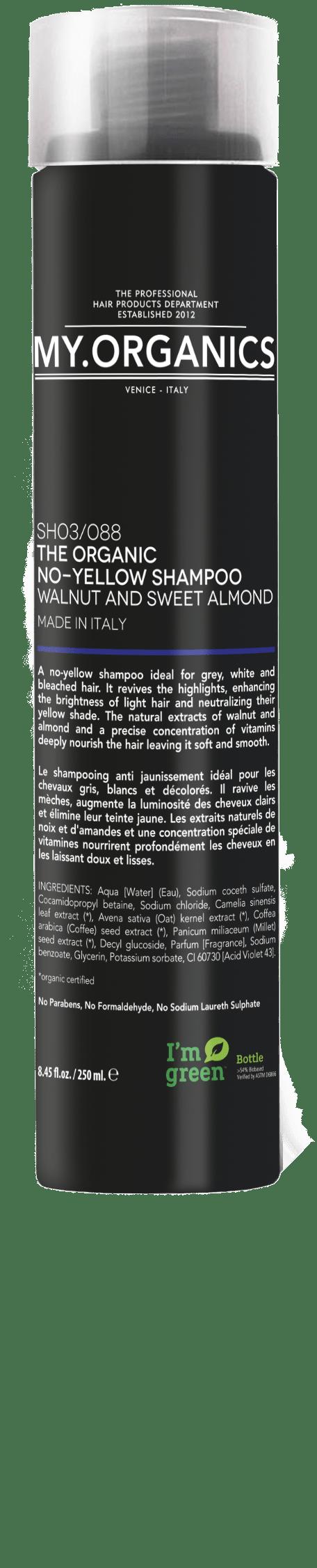 No-yellow Shampoo - Colour Protect line - MY.ORGANICS